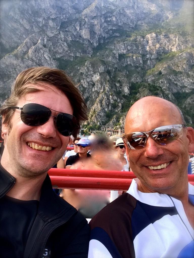 Auf dem Lago de Garda