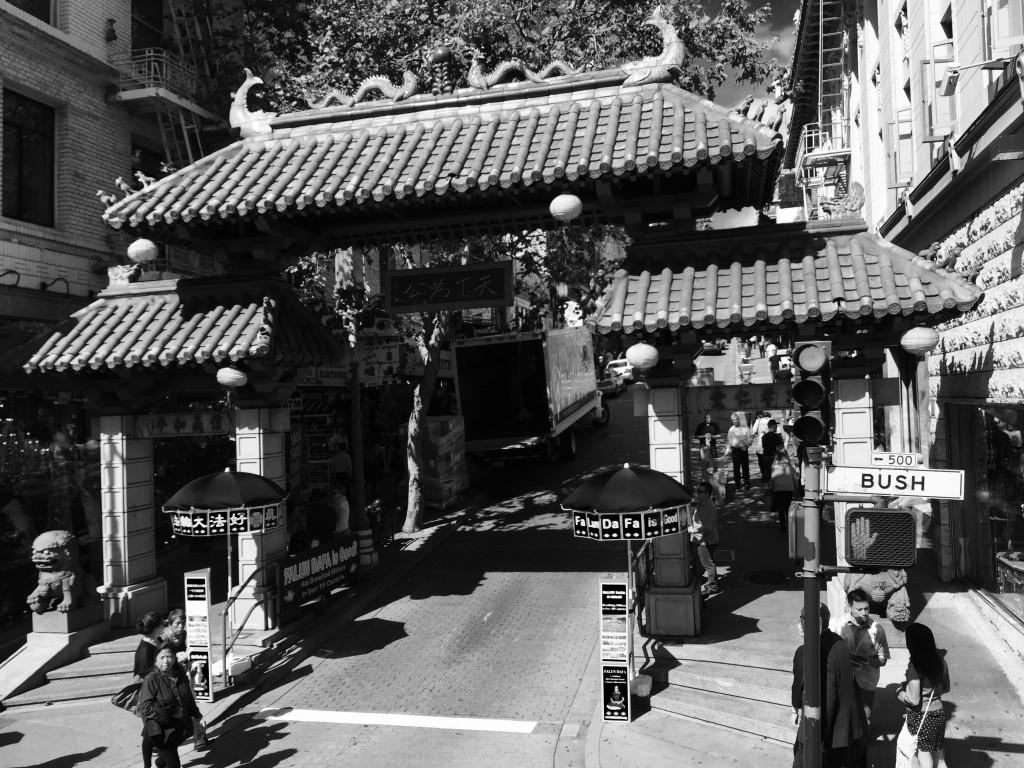 China Town Eingang