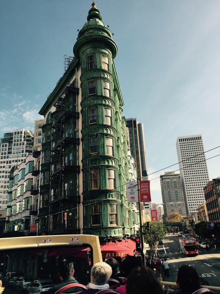 """The Sentinal """"Flatiron"""" Building - hier wurde angeblich Der Pate geschrieben."""