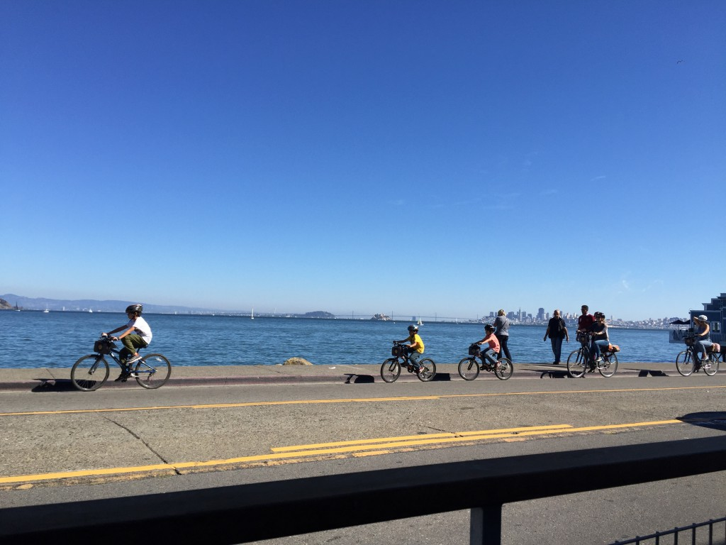 Blick von Sausaltos nach San Francisco
