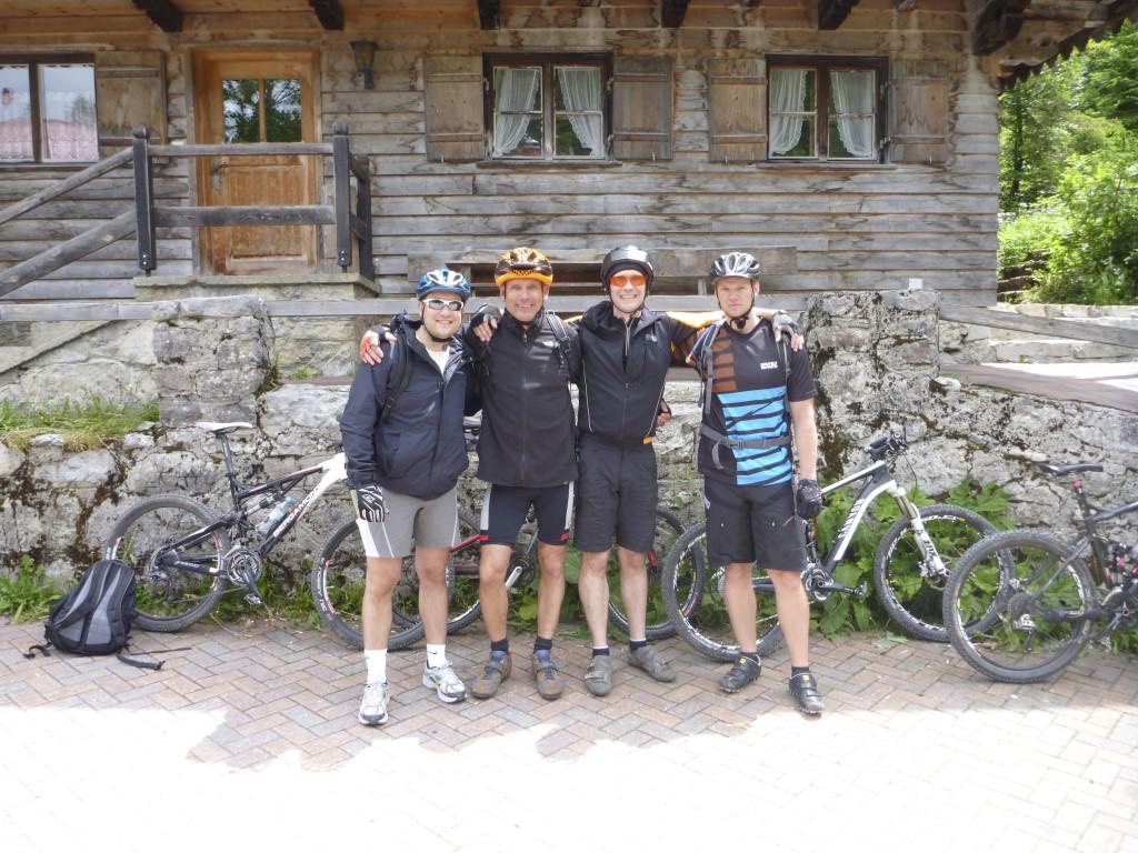 3-Seen-Tour: Spitzingsee vor der Mautstrecke