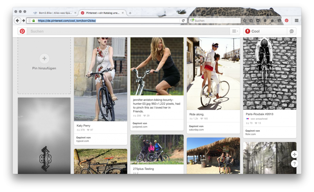 Born2.Bike auf Pinterest