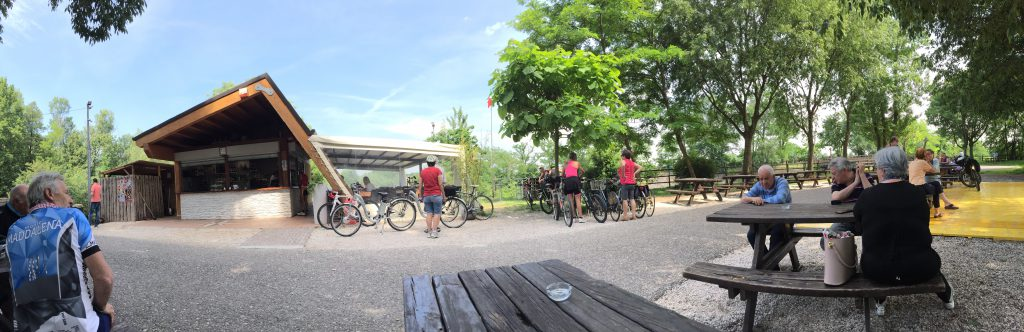 Mit dem Fahrrad immer Vorfahrt in Italien