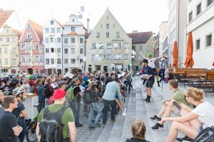 Verteilung des Manifests, Foto: (c) norlies.de