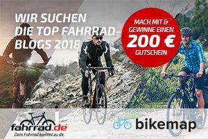 Wahl zum Fahrrad Blog des Jahres
