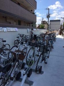 Fahrradparkplätze in Japan - Kyoto by Bike