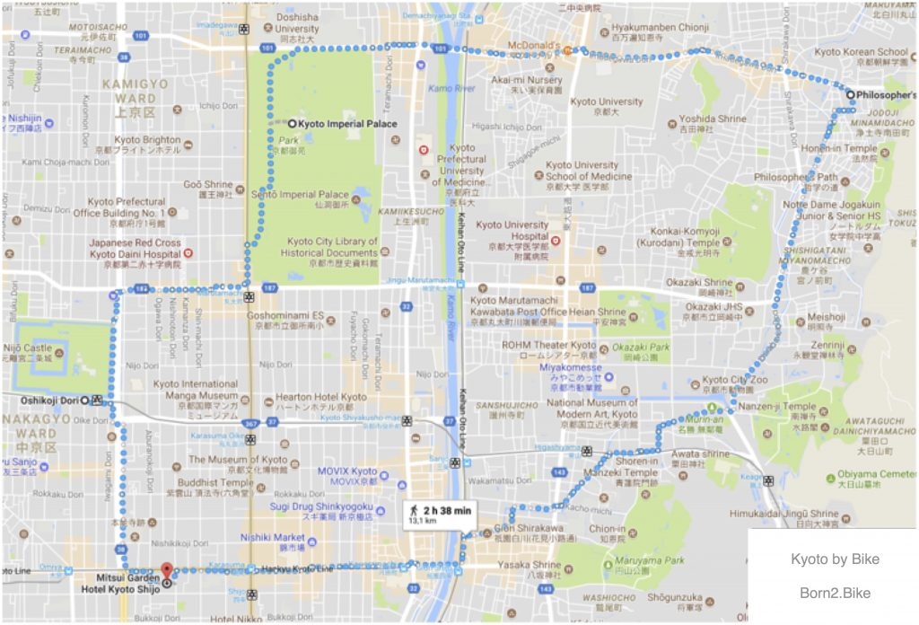 Kyoto by Bike Tour