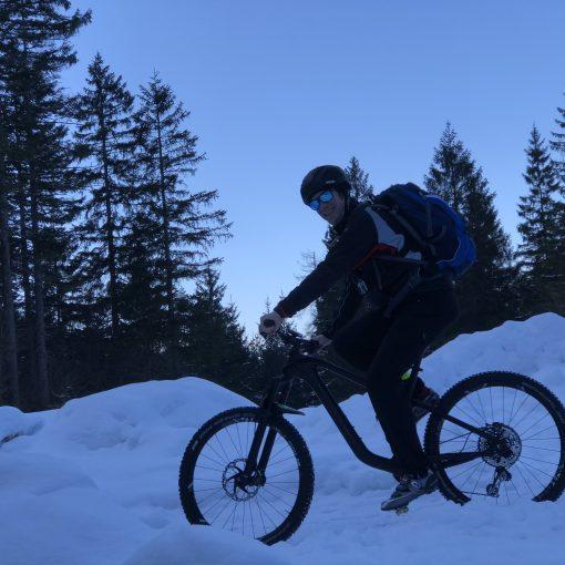 Icy Bike Challenge
