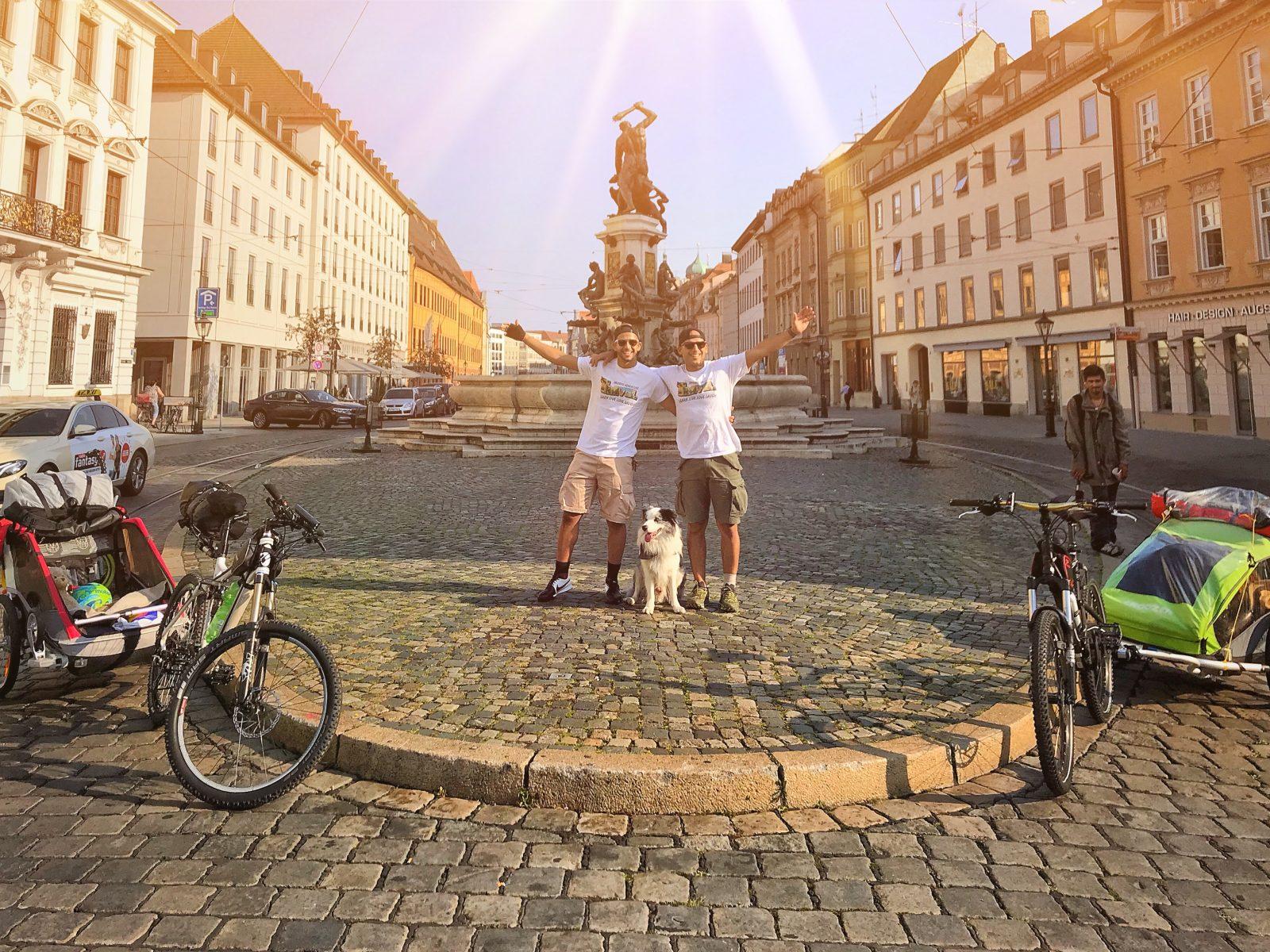 Start in Augsburg
