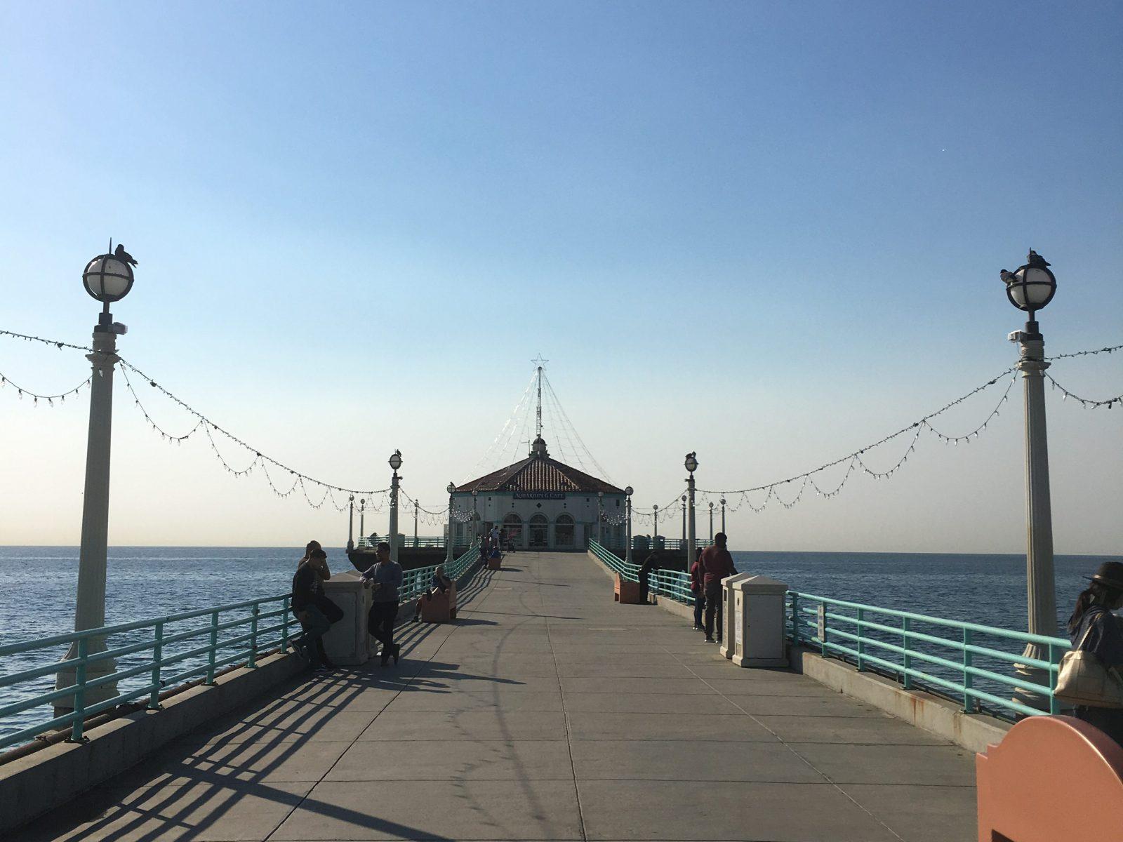 manhattan pier Cycling in Los Angeles