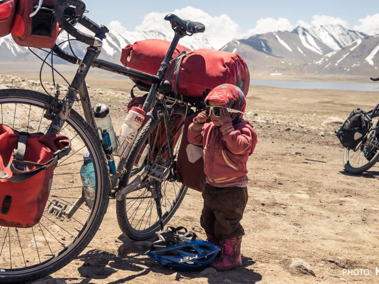 Bikerafting in Sibirien