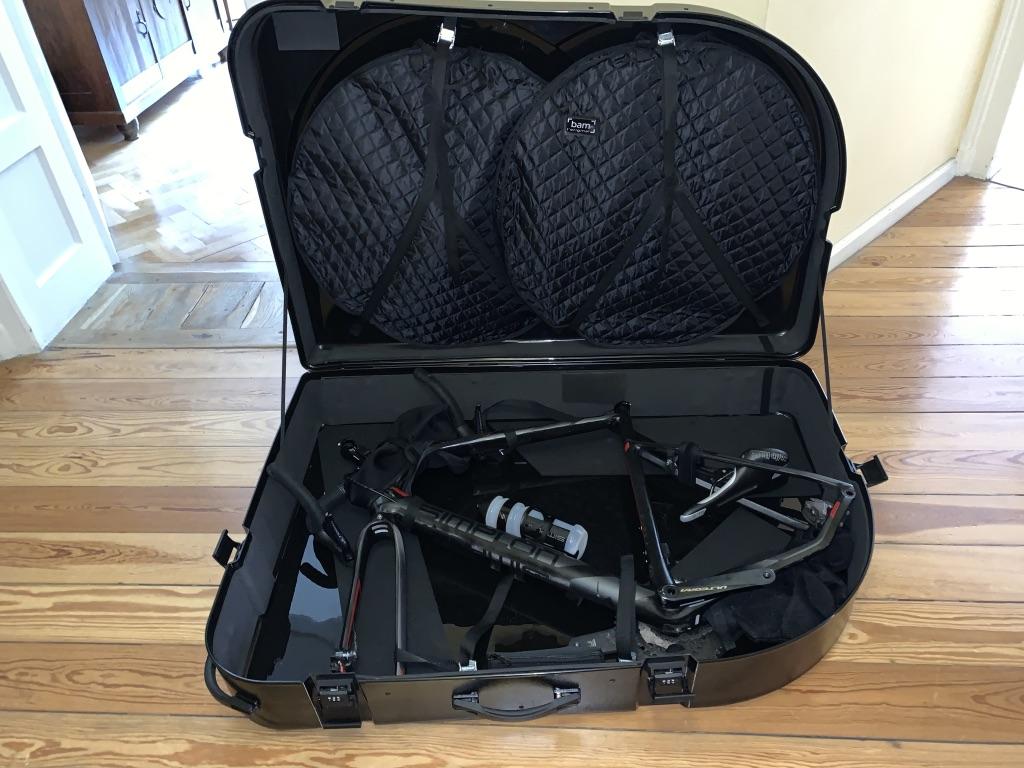 Der Koffer von BAM verpackt euer Rad perfekt und schön