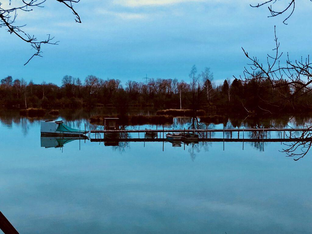 Im Herbst besonders schön: Seen