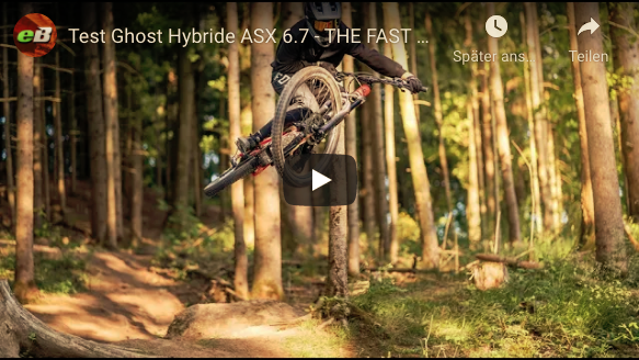 The Fast Dude auf einem Ghost ASX 6.7 Video