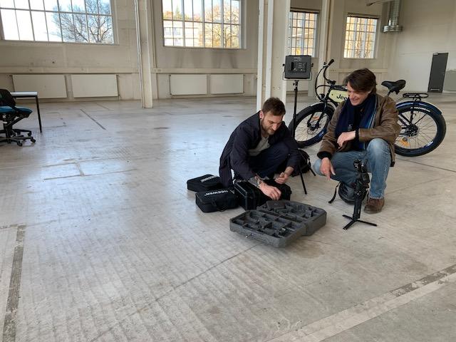 Ohne Technik auch keine Bike Art