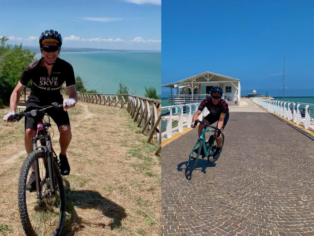Urlaub mit dem Bike